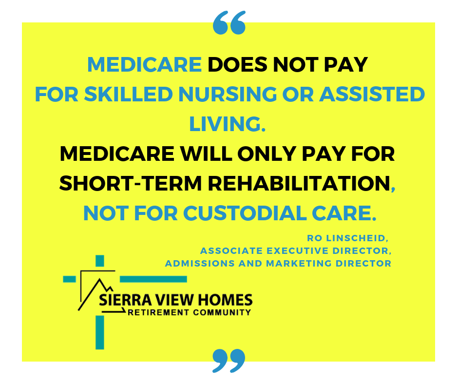 How much does medicare pay for assisted living